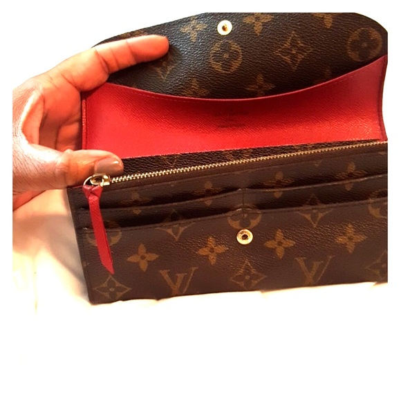 2fc3073a4a543 Louis Vuitton Handbags - Louis Vuitton Emilie wallet! GORGEOUS!